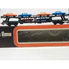 Lima  9054 Wagon car Deutsche Bahn car transporter Mercedes DB HO